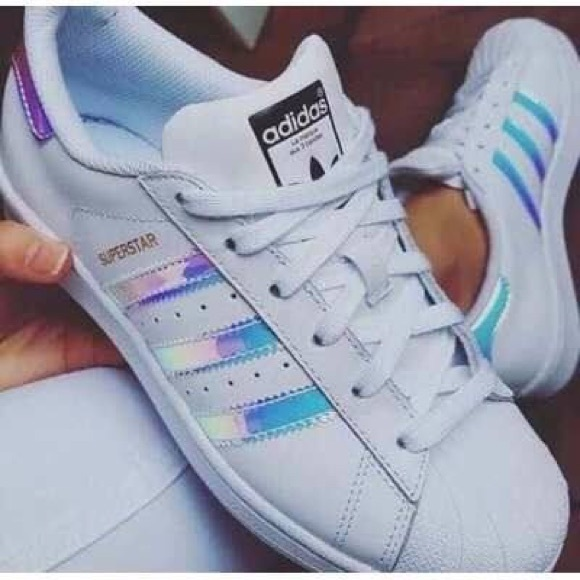 Adidas Superstar Holographic shoes size 6